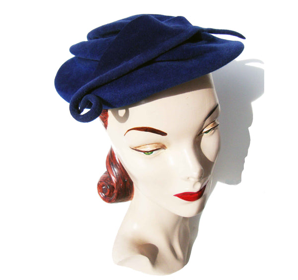 Vintage 30s Cocktail Hat