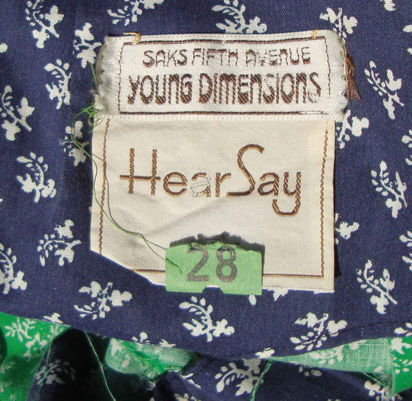 Saks 5th Ave Young Dimensions Label