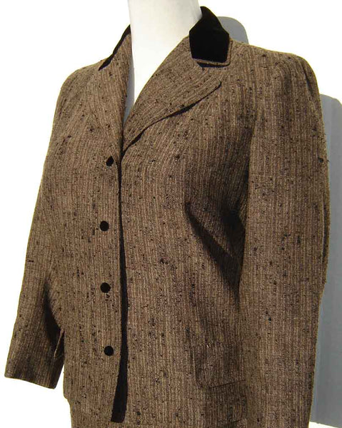 Jacket of Vintage Vera Maxwell Suit