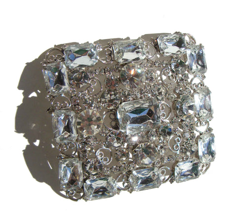 Vintage Juliana Rhinestone Coat Buckle