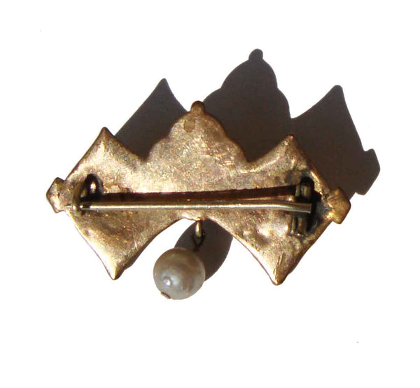 Antique Victorian Pearl Pin Brooch