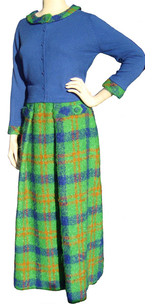 70s Sweater and Skirt Set - Metro Retro Vintage