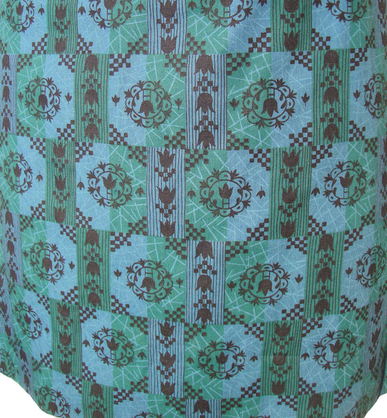 Modernist Fabric Suit Print