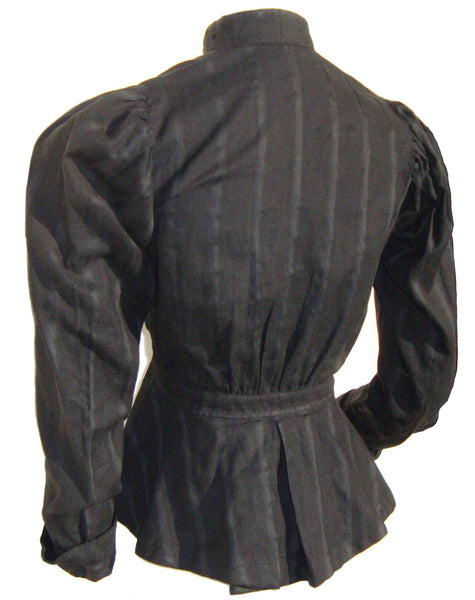 Back of Victorian Shirtwaist