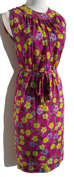 Vintage 60s Floral Dress by Wilroy