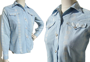 50s H Bar C Ladies Western Shirt