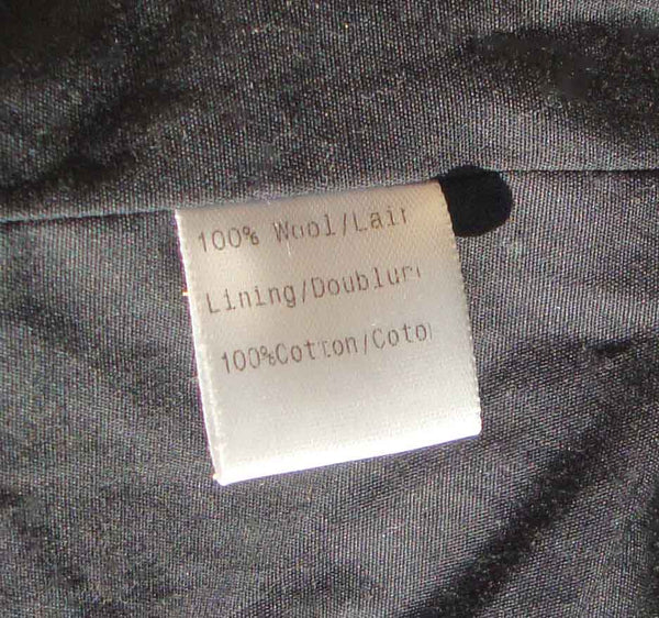 Vera Wang Coat Label