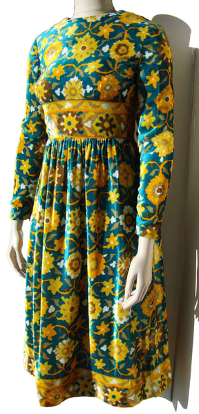 70s Hippie Dress - Metro Retro Vintage