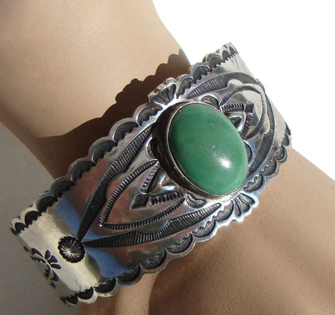 Don Lucas Indian Sterling & Turquoise bracelet
