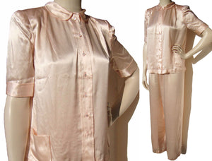 Vintage 40s Ladies Pajamas Deadstock