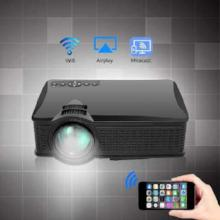 Recommended !! Mini Video  Projector 1500 Lumens HD LED Home Cinema Support Miracast Airplay Wifi OWLENZ SD60