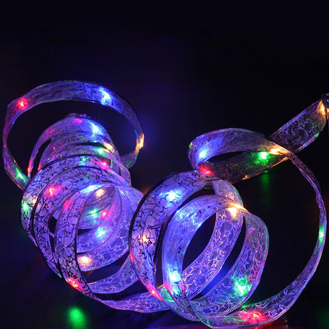 4M LED  Battery-Powered Led String Lights for Home Garden Party Decoration Lamp with 40 Led Bulbs