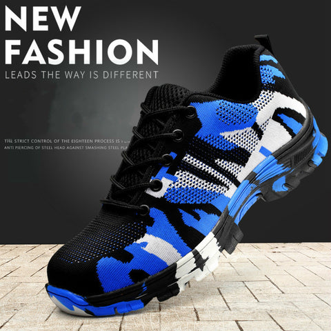 2018 Men's/Womens Safety Work Shoes with Steel Toe Light weight and Elegant Design
