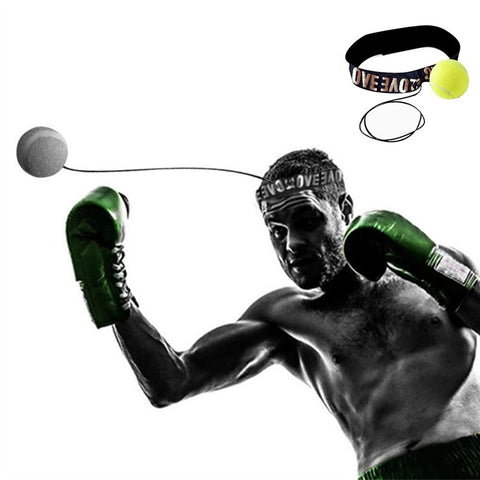 New Fight Boxeo Ball Boxing Equipment With Head Band For Reflex Speed dropship Training Boxing Punch Muay Thai Exercise free ep