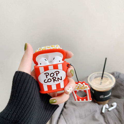 Popcorn&Fries Airpods TPU Case