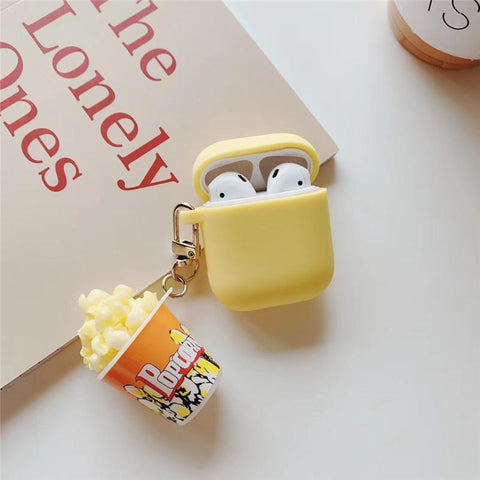 Pop Corn Chain Airpods Case