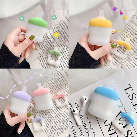 Baby Bottle Airpods Case