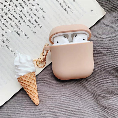 Ice Cream Chain Airpods Case