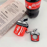 Coke Shaped Airpods Case