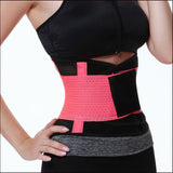 ADJUSTABLE WAIST TRIMMER BELT BODY SHAPER