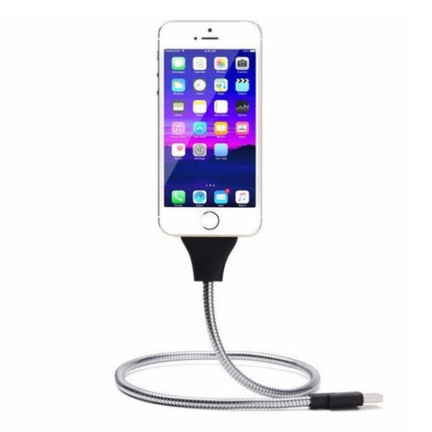 IPHONE AND ANDROID CHARGER DOCK CABLE & TRIPOD