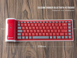 Flexible Waterproof Silicone Bluetooth Keyboard