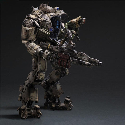Play Arts Kai Titanfall Atlas Armors-Machined Robot Action Figure