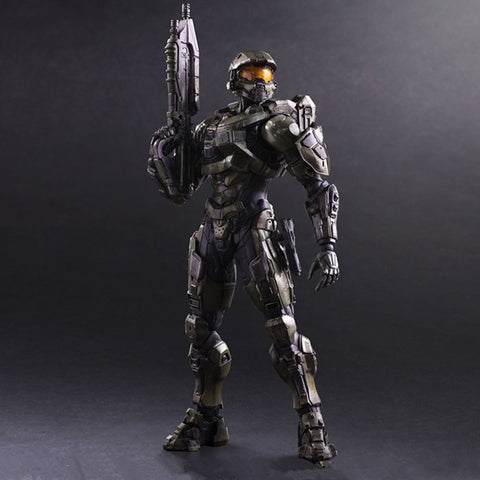 Play Arts Kai Halo 5:Guardians Master Chief Action Figure Variant Master Chief John 117 Model Toy