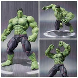 Avengers Hulk Figure Robert Bruce Banner PVC Material Super Hero Best Gift for Boyfriend