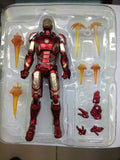 Iron Man Action Figure Iron Man MK43 Kids Toy Figures Collectible Toy