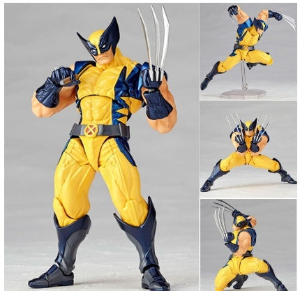 Crazy Toys Astonishing Wolverine From X-MEN Logan Wolverine Superhero 16cm PVC Action Figure Toy Collection Doll Model Gift