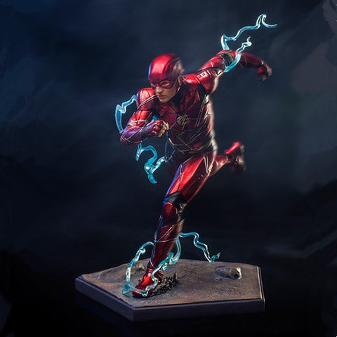 16cm DC Justice League Iron Studios The Flash Art Scale 1/10 Statue Figure Toy Collection Model Brinquedos Figurals Gift