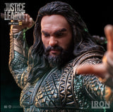 DC Justice League Iron Studios Aquaman 1/10 Scale Statue Figure