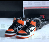 "Handcrafted AJ1 ""Shattered Backboard"" 3D Mini Keychain with Box and Bag"