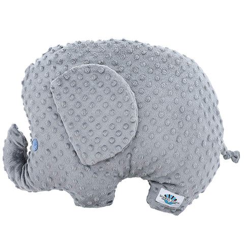 Cuddle Bliss Elephant Weighted Sensory Support - for Natural Calm - 2 pounds for Adult and Kids with Inner Bliss Inspiration tag - Wellness Gift