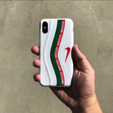 Air Max 97 UNDFTD White 3D Textured iPhone Cases