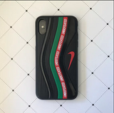 Air Max 97 UNDFTD Black 3D Textured iPhone Cases