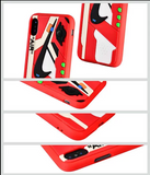 "OFF-WHITE 3D ""The Ten"" Textured iPhone Cases - Red Edge"