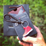 "Handcrafted AJ11 ""Win Like 96""3D Keychain with Box and Bag"