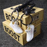 "Yeezy Boost 350 V2 ""Supreme"" 3D Mini Sneaker Keychains with Box and Bag"