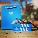 "Adidas NMD ""OG White"" 3D Mini Sneaker Keychain with Box and Box"