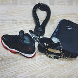 "Handcrafted AJ11 ""Bred"" 3D Keychain with Box and Bag"