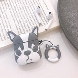 Frensh Pull Dog Airpods Case