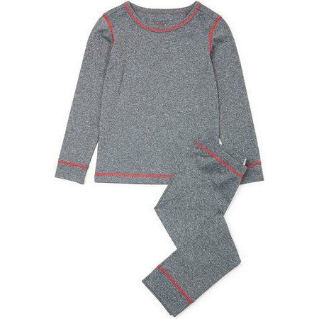 Grey Melange Base Layer Set