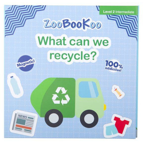 Magnet Book - What Can We Recycle