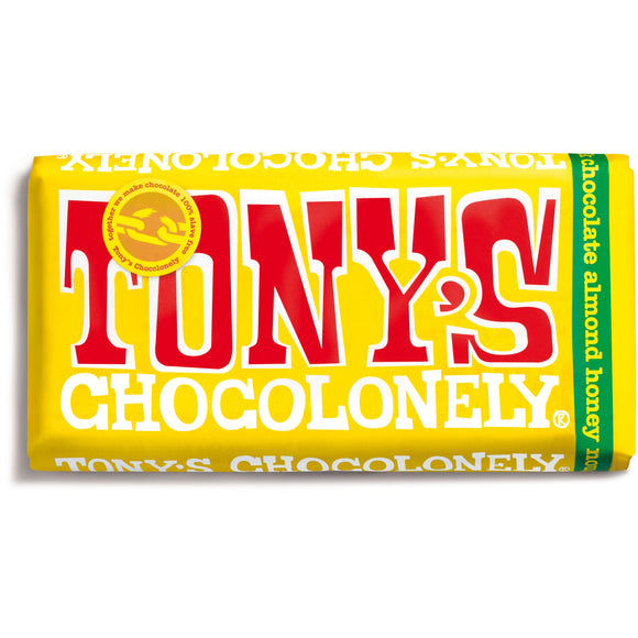Milk Chocolate Almond Honey & Nougat 180g Chocolate Bar