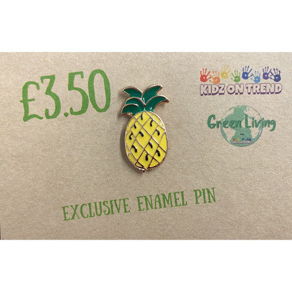 Exclusive Enamel Pin - Pineapple