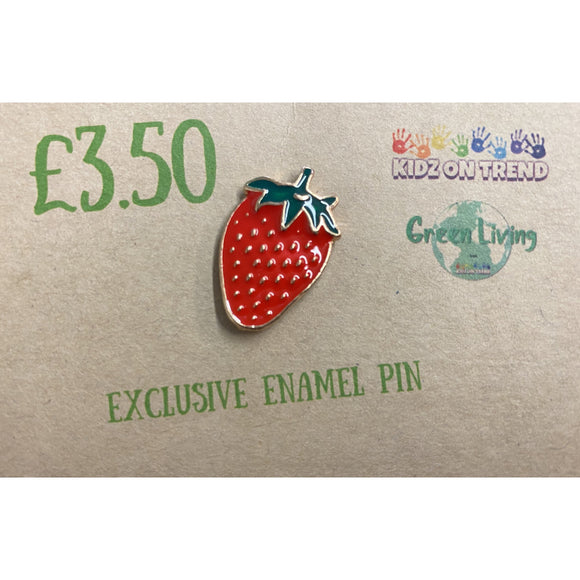 Exclusive Enamel Pin - Strawberry