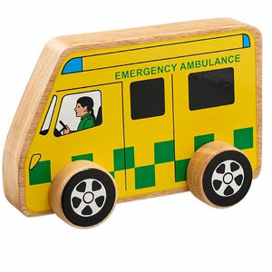Natural Wooden Ambulance