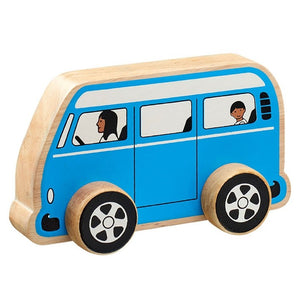 Natural Wooden Camper Van